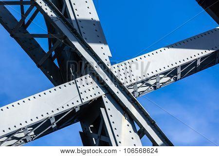 Modern Bridge Frame Closeup