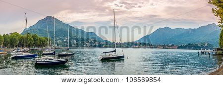 Panoramic View Of Lake Como From Lecco