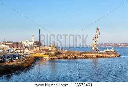 View Of The City Kineshma, Russia