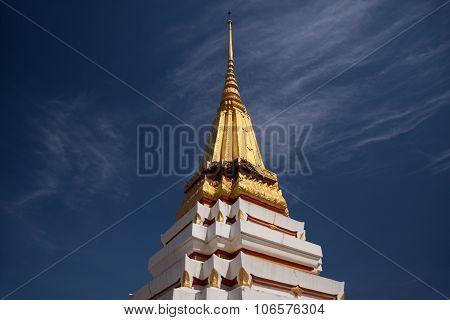 Pagoda On Blue Sky