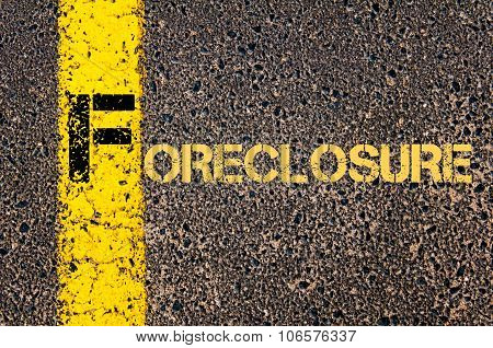 Business Acronym F As Foreclosure
