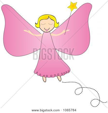 Fairy With Magic Wand