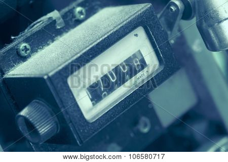 Metering Device As A Fragment Of Industrial Machinery