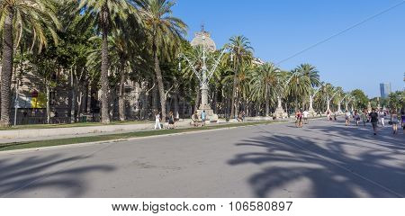 Promenade To The Parc De La Ciutadella
