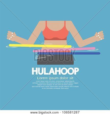 Hulahoop Playing.