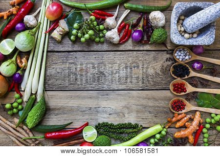 Thai Food Ingredients, Spicy Taste