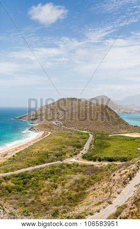 Point Of Land On St Kitts