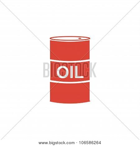 Vector Icon Barrels Of Oil