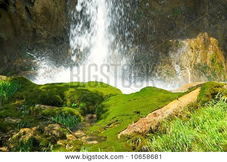 Picture of a beautiful waterfall