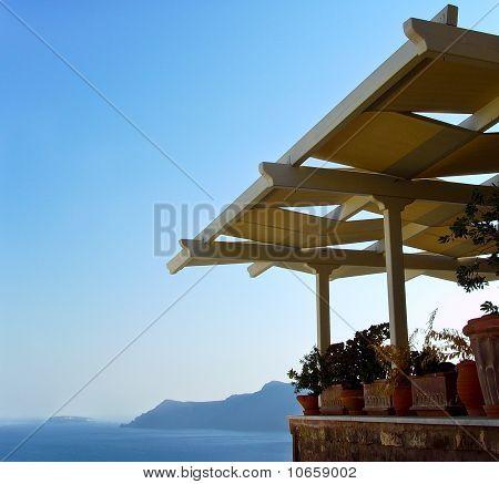 Santorini, caldera view