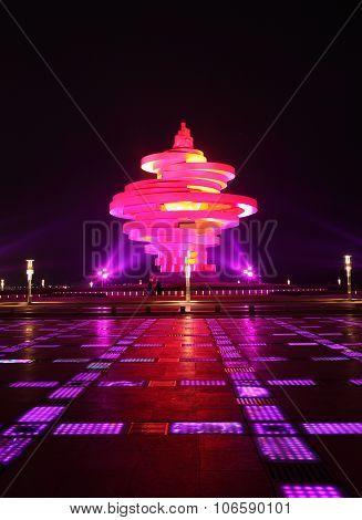 Wusi square of Qingdao
