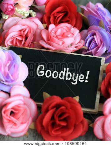 goodbye sign
