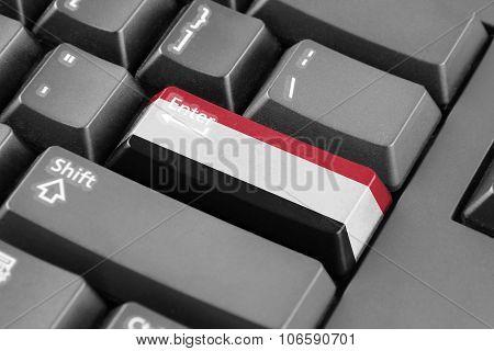 Enter Button With Yemen Flag