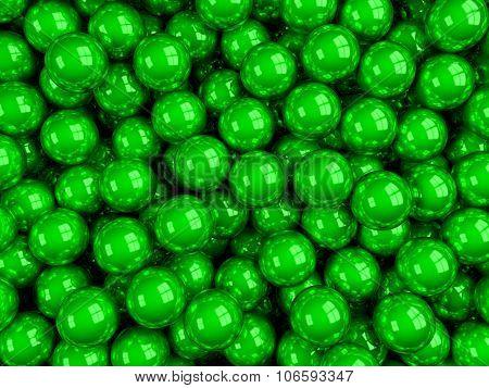 Balls Green Glossy