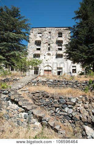Abandoned Hotel Building
