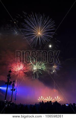 Fireworks, Barcelona Spain
