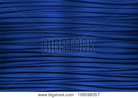 background of blue 3d abstract waves