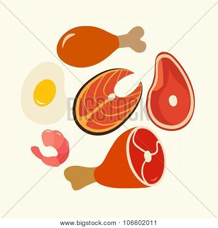 Healthy food protein
