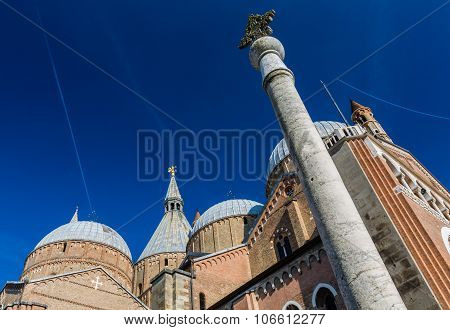 Architectural Detail Of Saint Anthony (sant Antonio) Church (basilica) - Padova, Italy