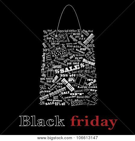Black Friday. Sale.