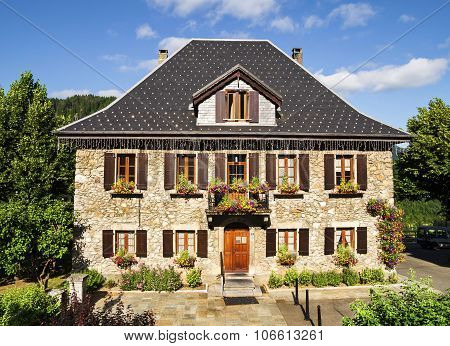 Traditional French house