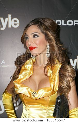 LOS ANGELES - OCT 29:  Farrah Abraham at the Life & Style Weekly's