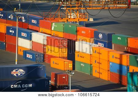 Red Hook Container Terminal Cargo