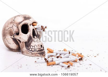 Do not smoke and you will be healthy