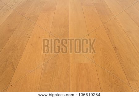 wooden floor, oak parquet / laminate