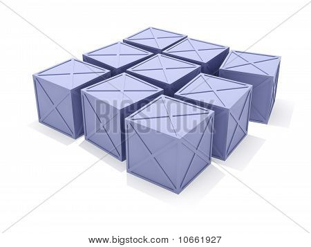 Blue Iron Boxes