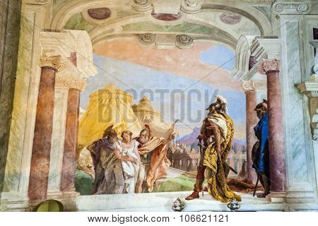 Frescos From Giovanni Battista Tiepolo