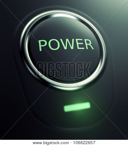 Button With Text Power