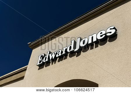 Edward Jones Exterior And Logo