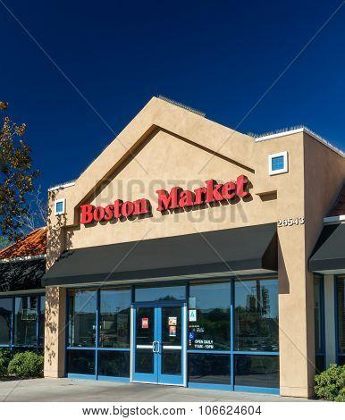 Boston Market Restaurant Exterior
