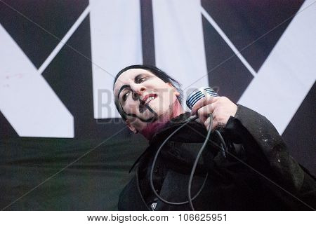 Marilyn Manson live at Soundwave Festival in Brisbane