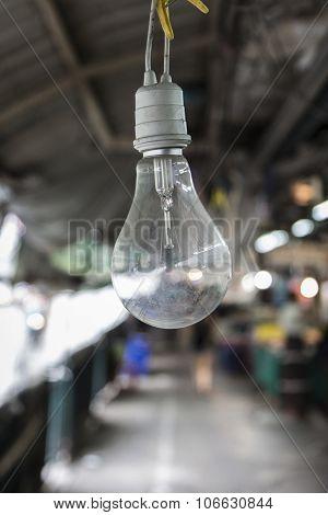 Lamp In Market