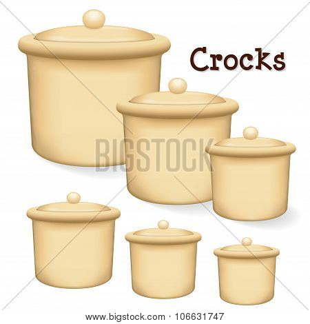 Crocks With Lids
