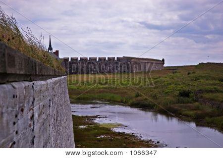Louisbourg Moat