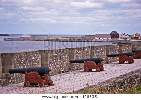 Louisbourg Cannons