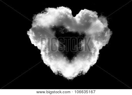 Heart Shaped Smoke Ring