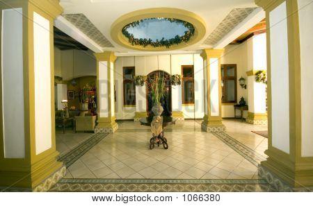 Classic Hotel Lobby