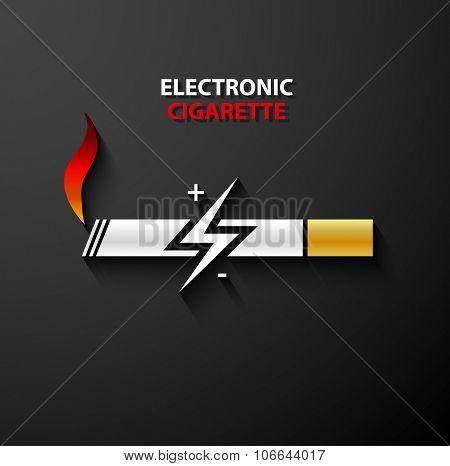 Electronic Cigarette Icon