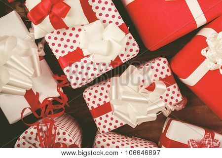 Christmas Presents On The Table