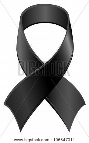 Black Ribbon symbol Day of Mourning