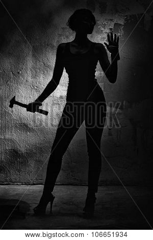 Girl With A Hammer