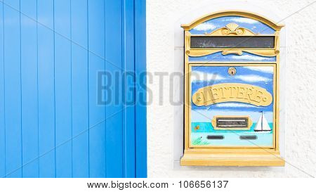 Letter Box Decored