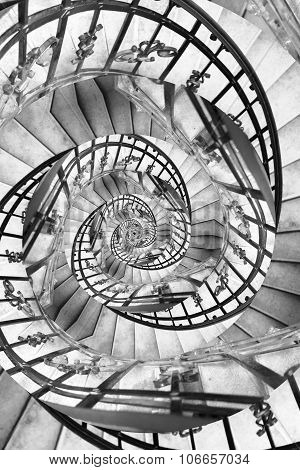 Stairs Spiral Droste