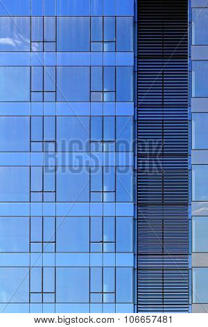 Blue Glass Building