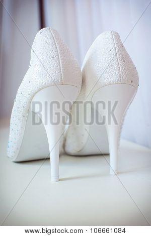 Beautiful Bride's Shoes