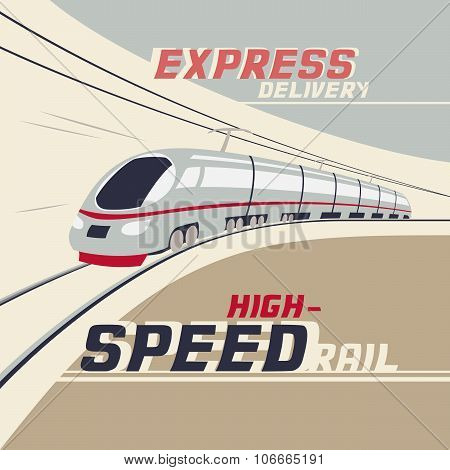 High-speed Rail Illustration